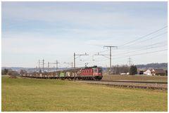 Aargauische Südbahn 6. Februar 2016 - (1)