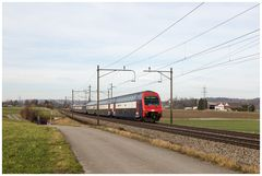 Aargauische Südbahn 6. Februar 2016 - (4)