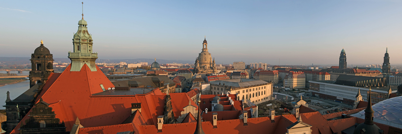 ab turris castrum - Vom Hausmannsturm Dresden