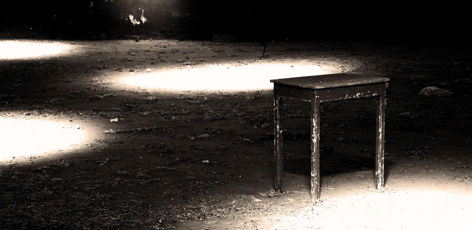 Abandonada.