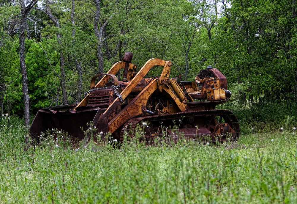 Abandoned Caterpillar