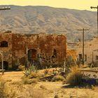 Abandoned Movie Set Fort El Condor Tabernas Desert Almeria