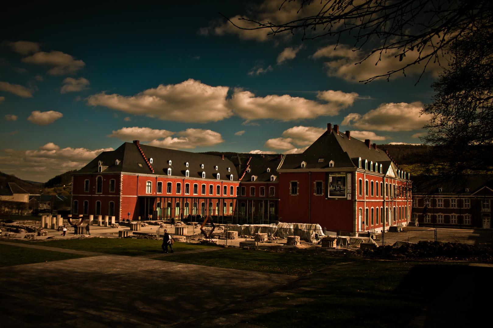 Abbaye de Stavelot, Belgien