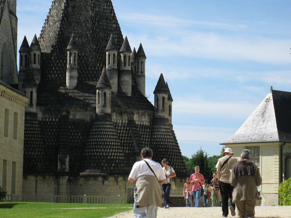 'Abbaye royale de Fontevraud (Maine et Loire)