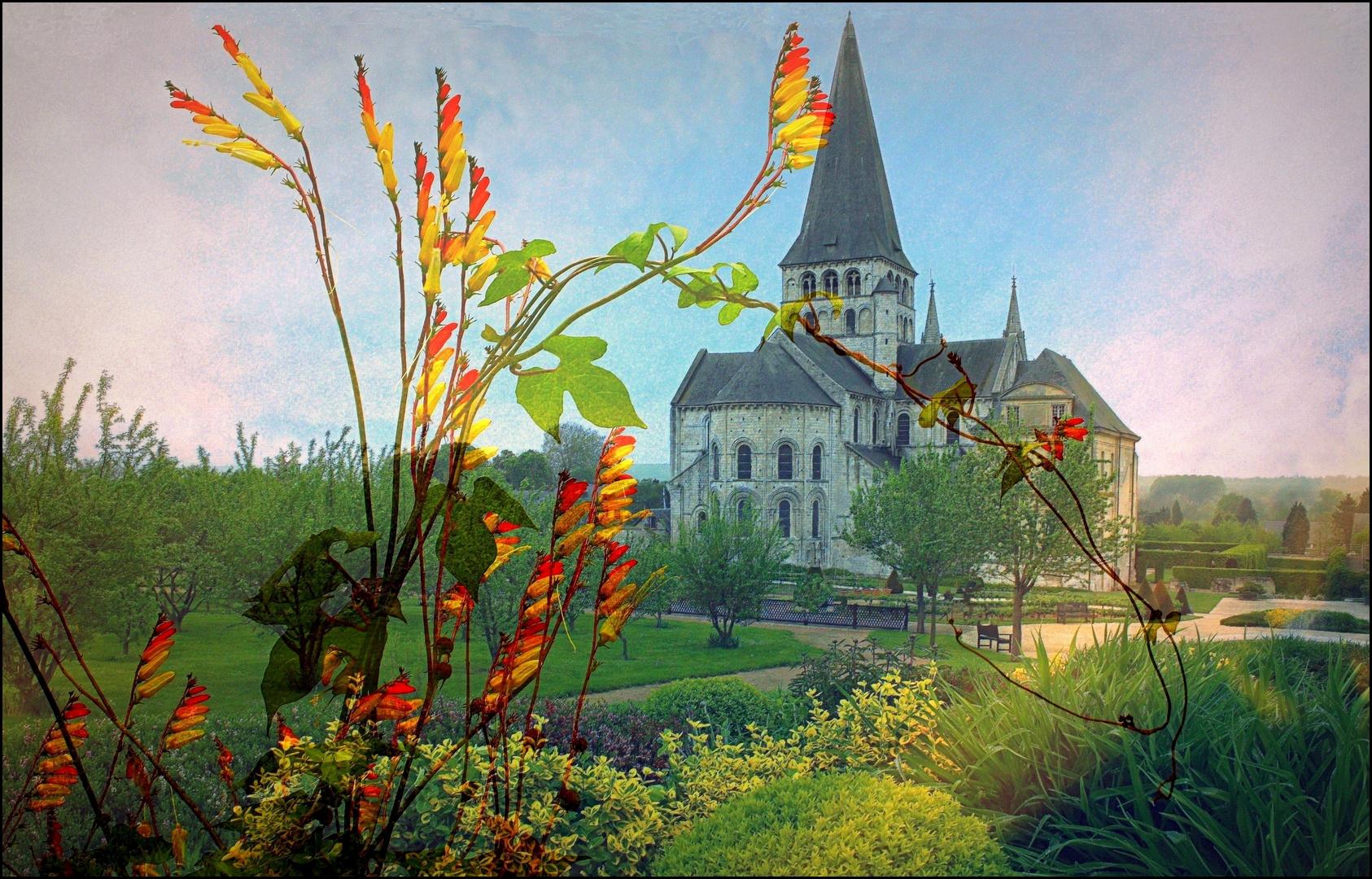 Abbaye St-Georges à St-Martin de Boscherville / 4