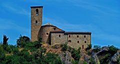 Abbazia Benedettina di montetiffi, metà XI secolo (Sogliano al rubicone)
