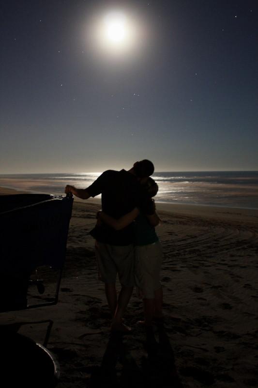 Abbraccio Alla Luna Foto Immagini
