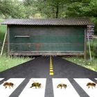 Abeilles road.