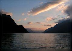 Abend am Brienzer See