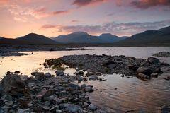 Abend am Loch Glascarnoch
