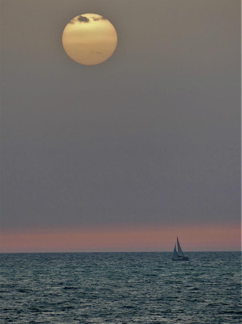 Abend am Meer