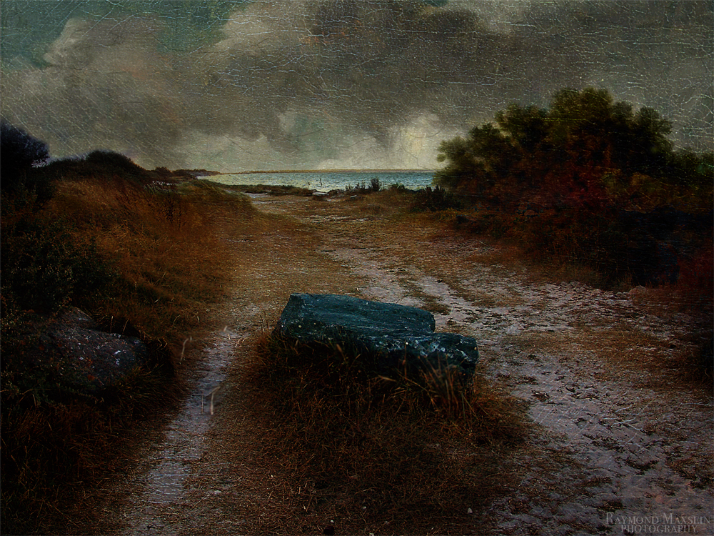 Abend am Meer - und eine Lunge Salzluft vor der Dunhill