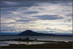 Abend am Myvatn See