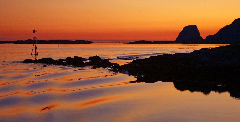 Abend am Nordkap