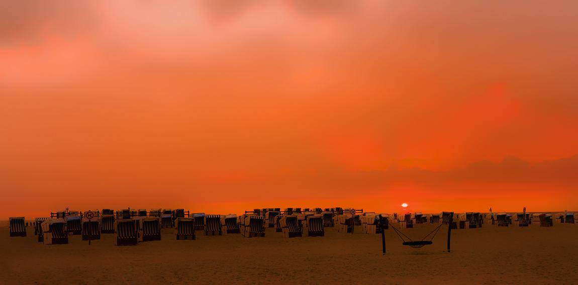 Abend am Strand - 2