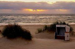 Abend am Strand von Westerland - 4