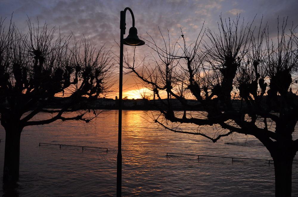 Abend am Wasser