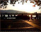 Abend am Zürichsee