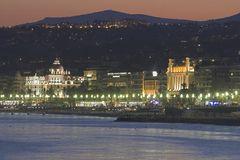 Abend an der Côte d'Azur