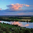 Abend an der Donau