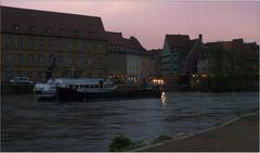 Abend an der Regnitz