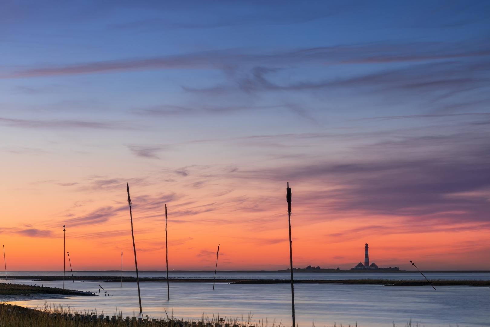 Abend an der Tümlauer Bucht