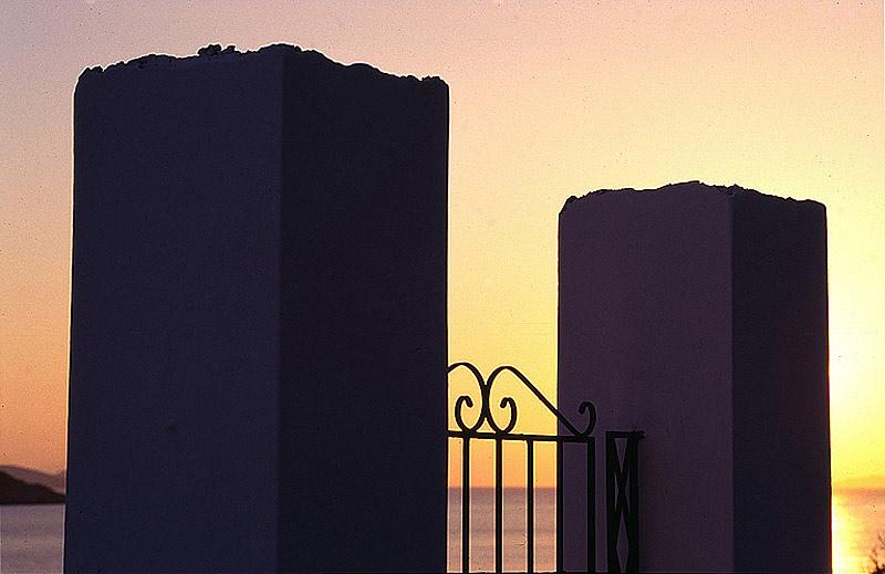 Abend auf Amorgos