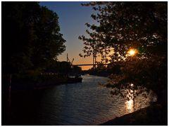 Abend auf dem Dänholm