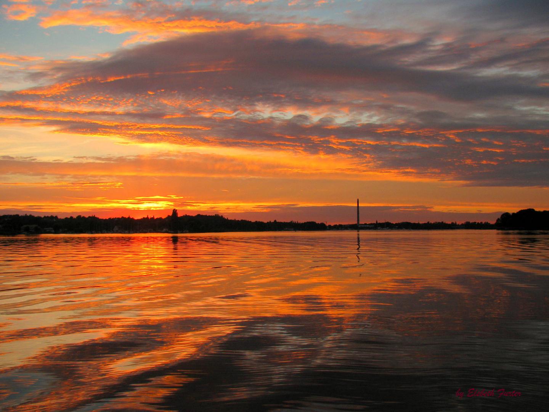 Abend auf dem See