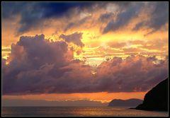 Abend auf Elba