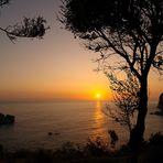 Abend auf Korfu
