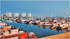 Abend Hafen Skagen