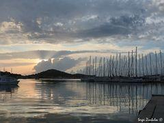 Abend im Hafen