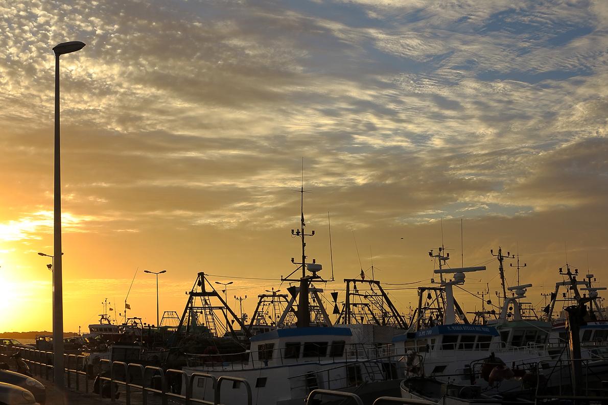 Abend im Hafen / Al porto di sera (1)
