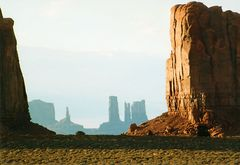 Abend im Monument Valley
