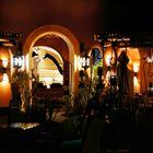 Abend im Zambezi Sun Resort
