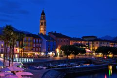 Abend in Ascona