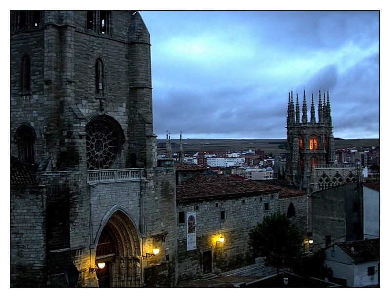 Abend in Burgos