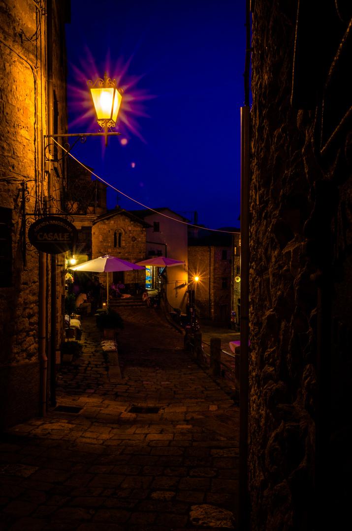 Abend in Casale Marittimo