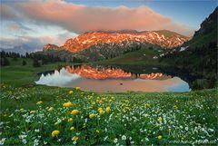 - - - Abend in den Bergen - - -