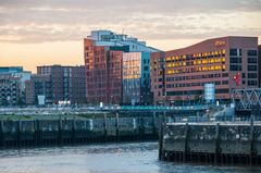 Abend in der Hafencity Hamburg