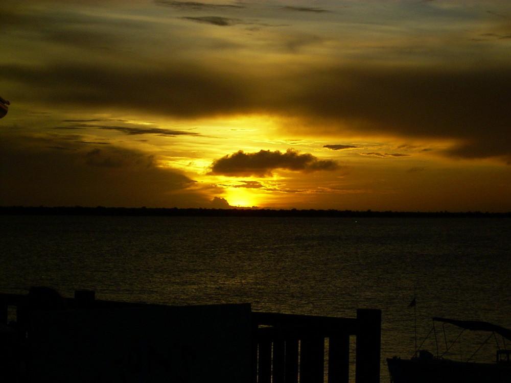 Abend in der Lagune