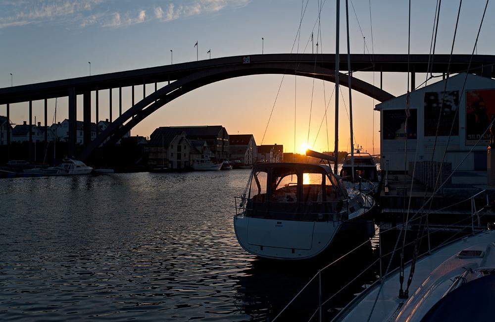 Abend in Haugesund