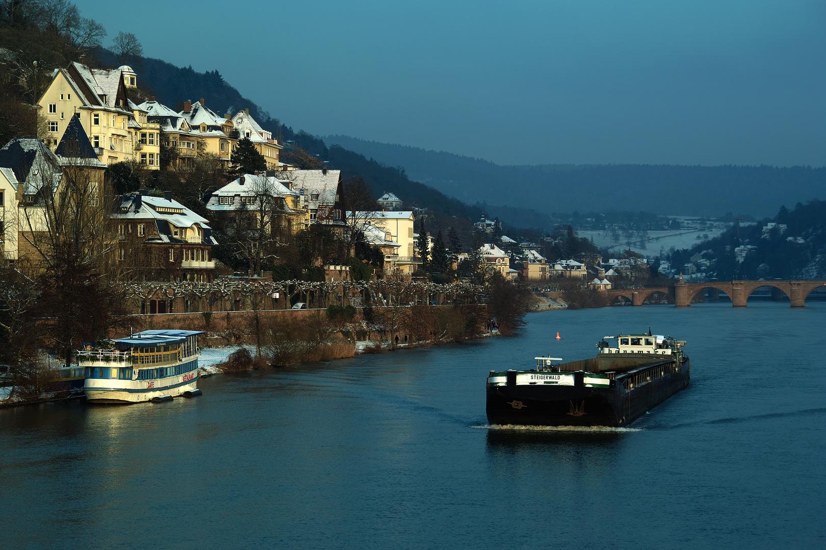 Abend in Heidelberg