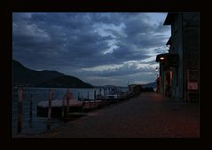 Abend in Riva di Solto