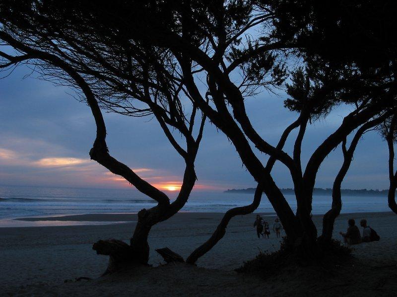 Abend in Stinson Beach