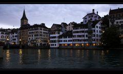 Abend in Zürich