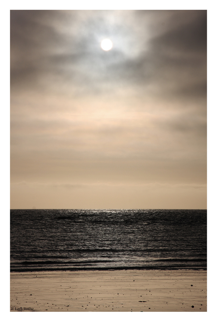 Abend Strand