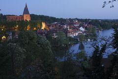 Abend über der alten Stadt