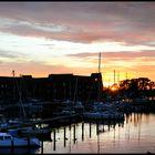 Abend über der Marina